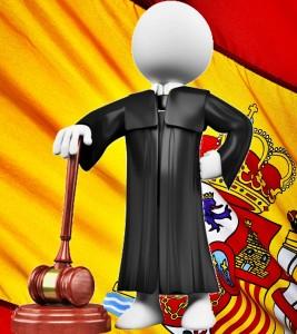 España y juez
